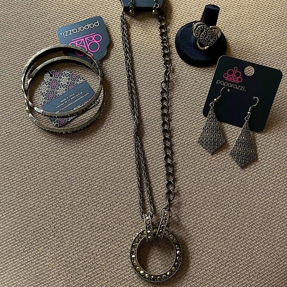 5pc Brass Jewelry Set
